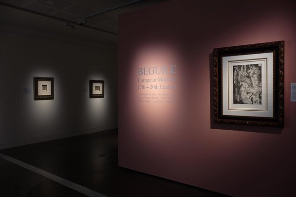 Beguile: European Masters: 17th – 20th Century on exhibition at Lismore Regional Gallery, 2018