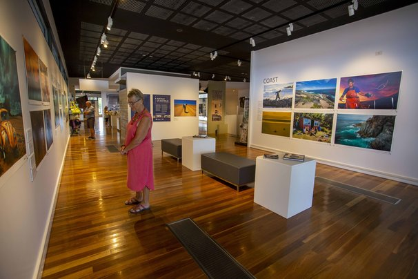 A Portrait of Australia: Stories through the lens of Australian Geographic installation view