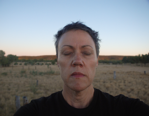 Self Portrait on country (Wave Hill), 24 June 2014
