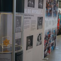 "Anne Frank Travelling Exhibition ""Let Me Be Myself"""