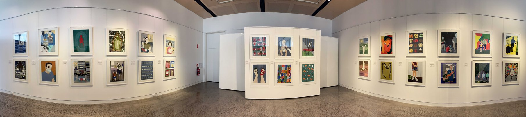 Early Installation View