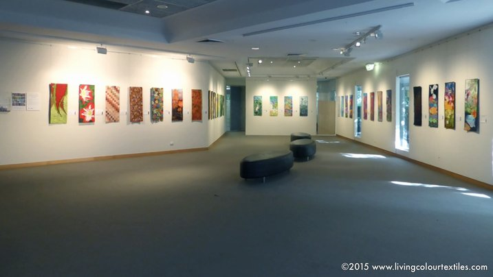 Previous exhibition installation view