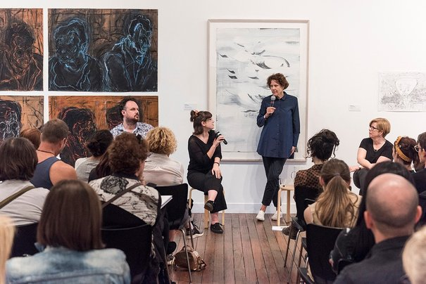 Artist talks at the Dobell Drawing Prize #21
