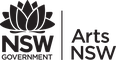 Arts NSW logo